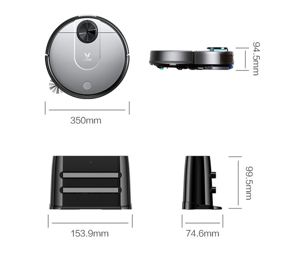 Робот-пылесос Xiaomi Viomi Cleaning Robot - 4