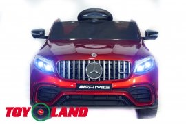 Mercedes-Benz AMG GLC63 Coupe 4X4 - Красный