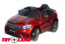 Mercedes-Benz AMG GLC63 Coupe 4X4 - Красный image