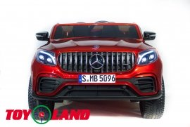 Mercedes-Benz AMG GLC63 2.0 Coupe 4X4 - Красная