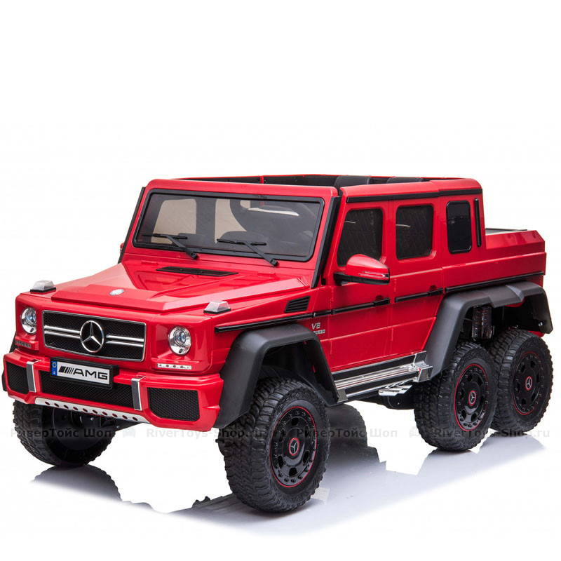 Rivertoys Mercedes-Benz G63 AMG 4WD P777PP - Красный