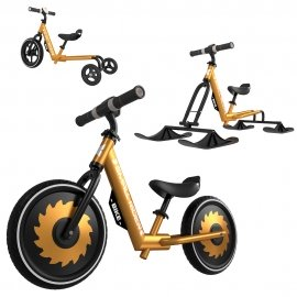 Беговел-снегокат Small Rider Roadster X Plus Combo (3 в 1) -Бронза